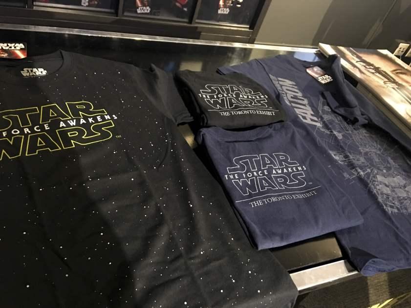 Star Wars: The Force Awakens t-shirts