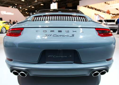 Porsche 911 Carrera S Cabriolet tail end