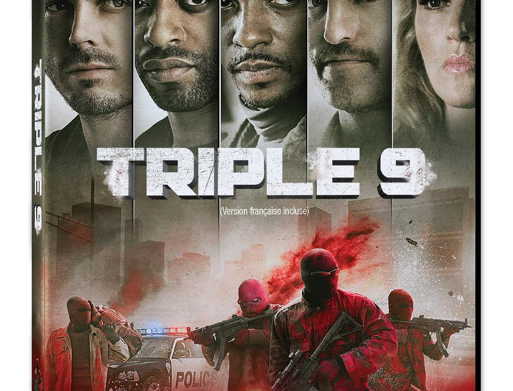 Triple 9 DVD