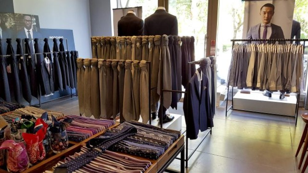 Indochino showroom