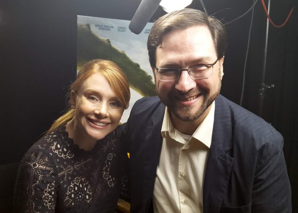 Bryce Dallas Howard and W. Andrew Powell