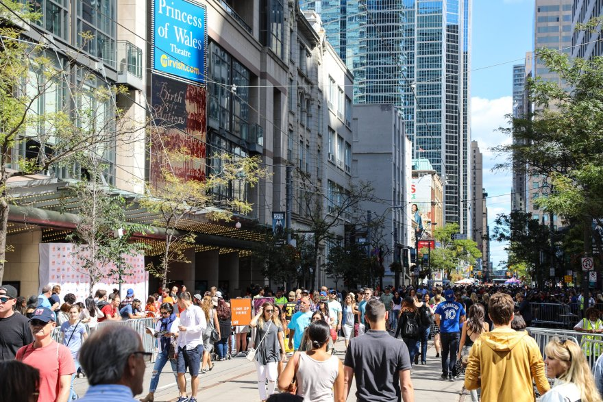 TIFF's Festival Street (Lead up to TIFF 2017)
