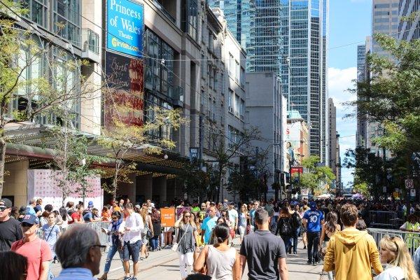 TIFF's Festival Street