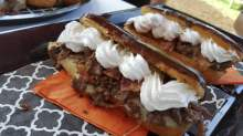 Philly Steak Eclair