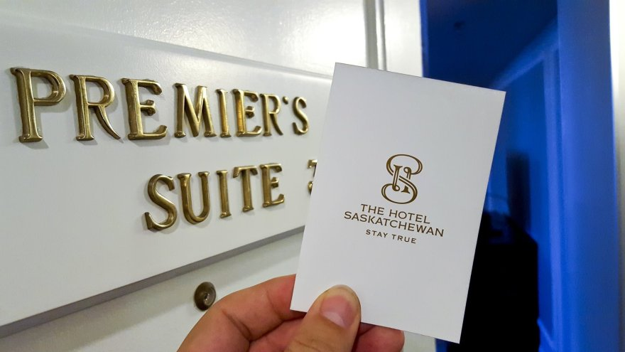 Premier's Suite at The Hotel Saskatchewan