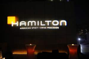 Hamilton Watch event