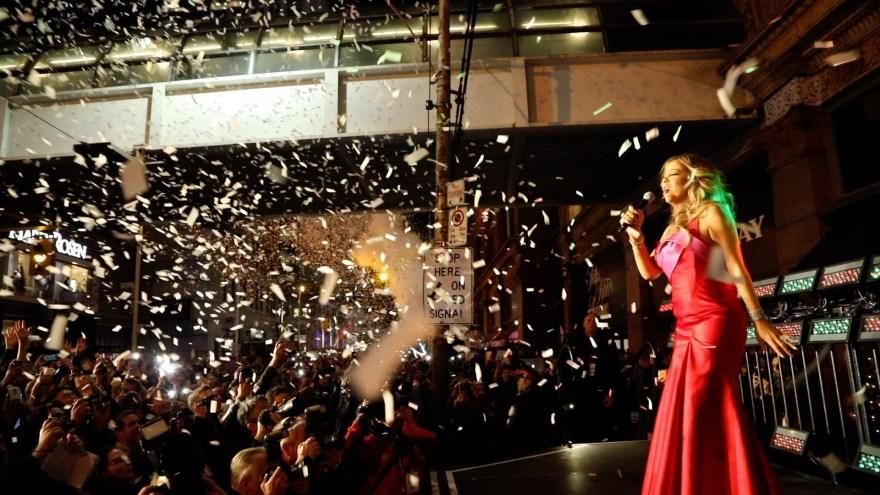 Mariah Carey in Toronto