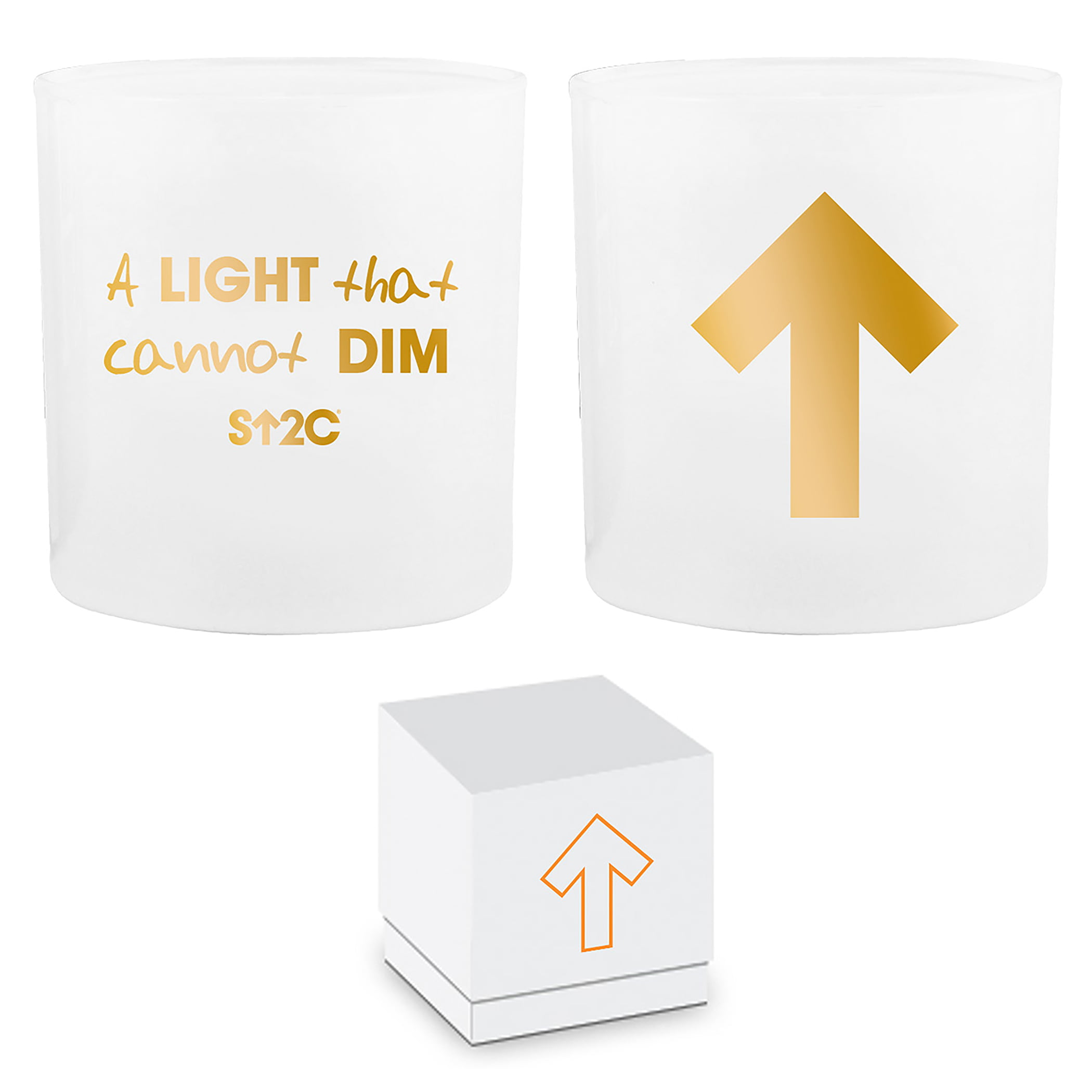 SU2C Boxed candle