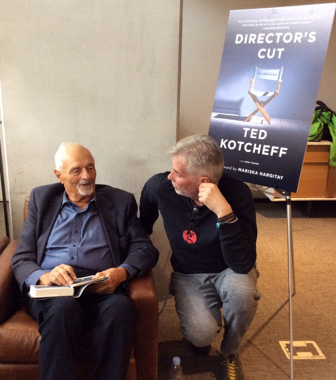 Christopher Heard and Ted Kotcheff