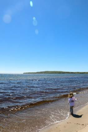 Pancake Bay beach