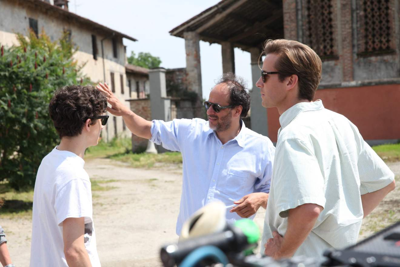 Timothée Chalamet, Armie Hammer, and Luca Guadagnino discuss 'Call Me by Your Name'