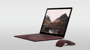Surface Laptop in Burgundy