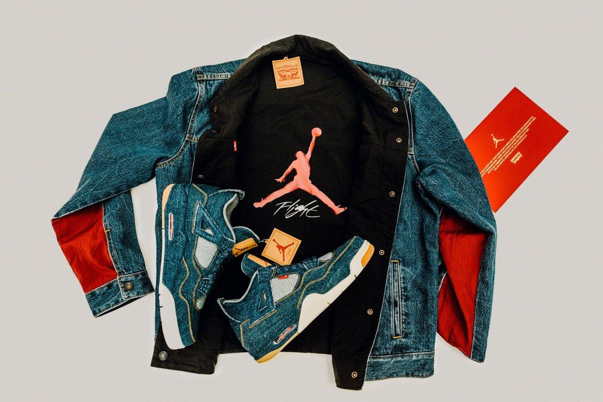 Levi's x Jordan collaboration
