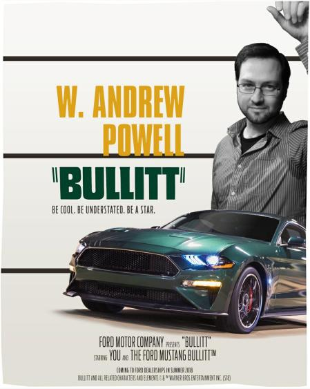 W. Andrew Powell is Bullitt