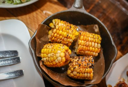 Cajun-Buttered Corn on the Cob