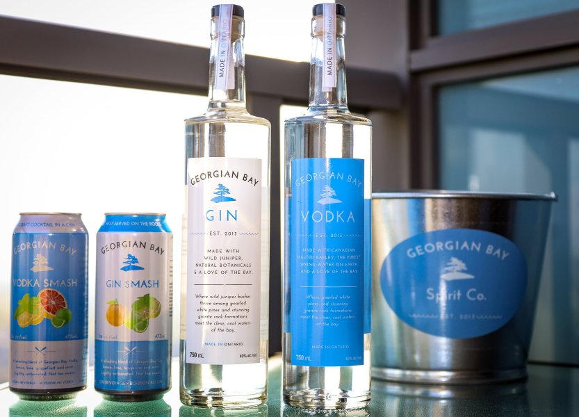 Georgian Bay Vodka and Georgian Bay Gin