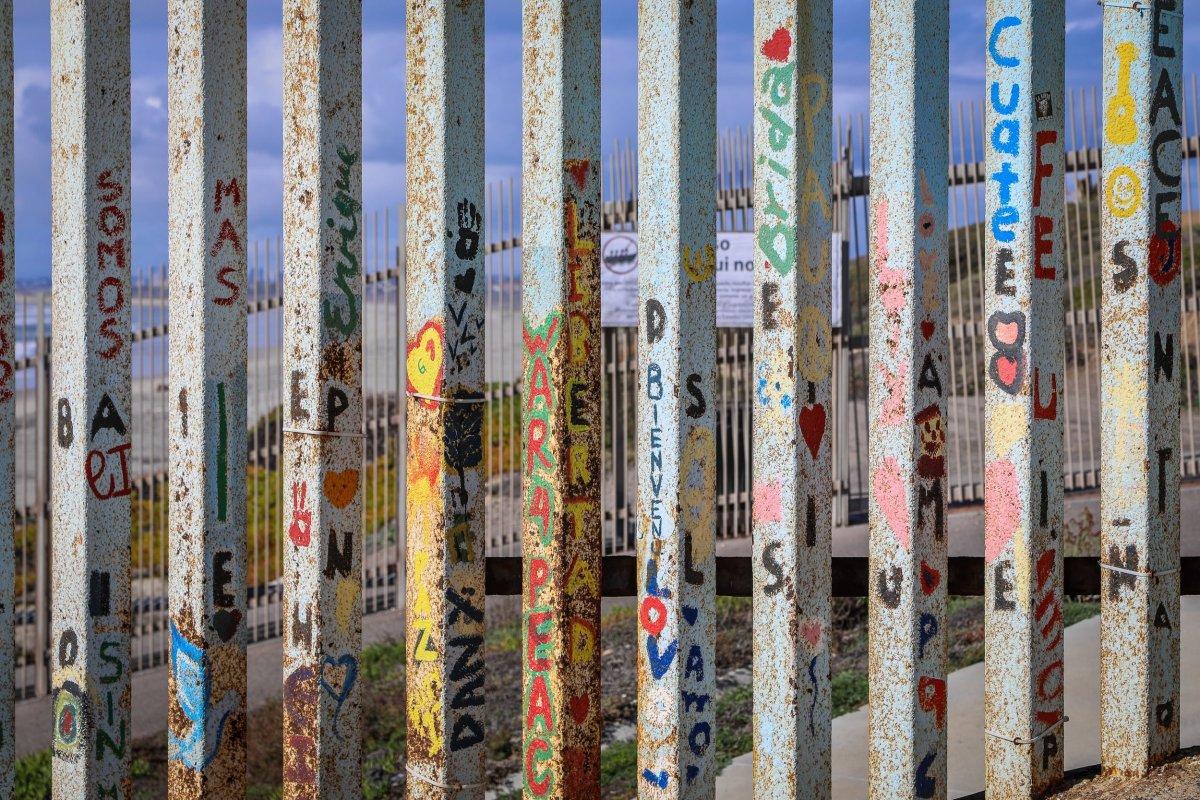 Border fence in Tijuana, Mexico