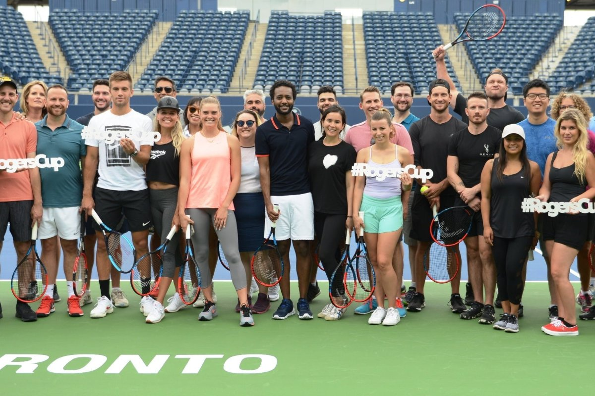 Rogers Cup Media Day