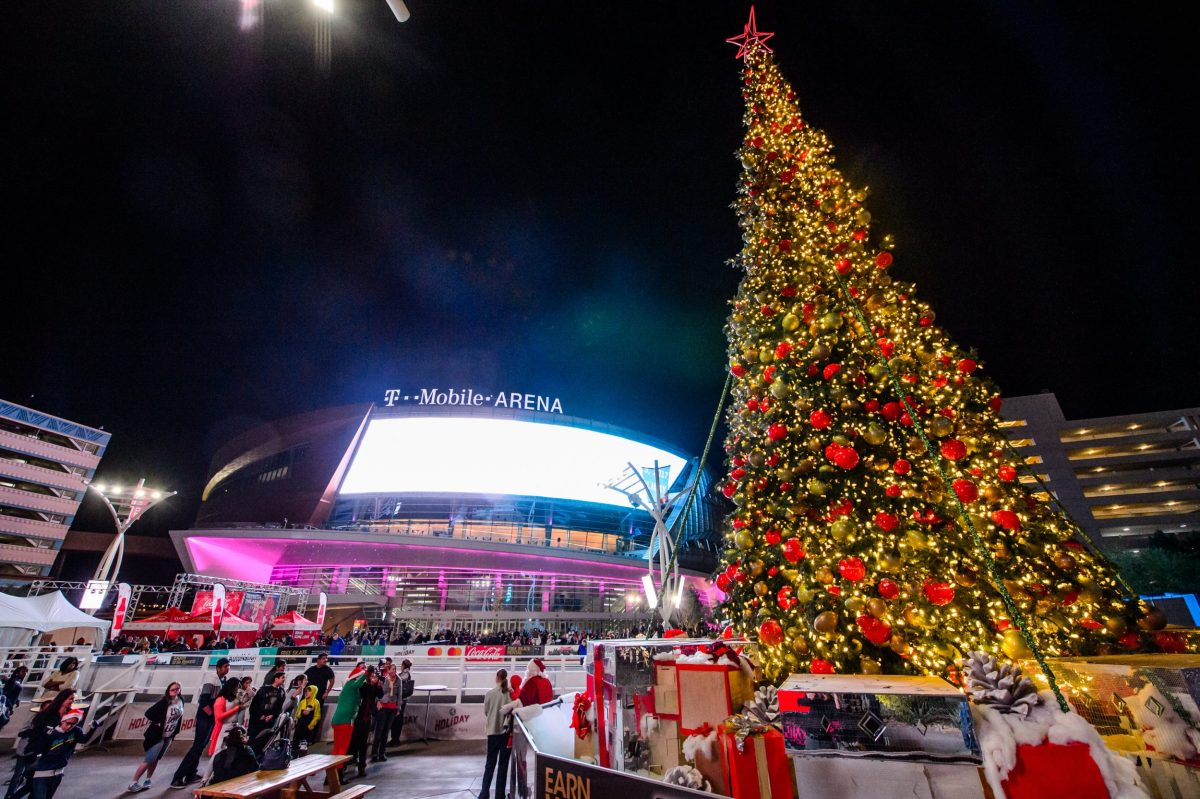 Celebrate the holidays at MGM's The Park in Las Vegas