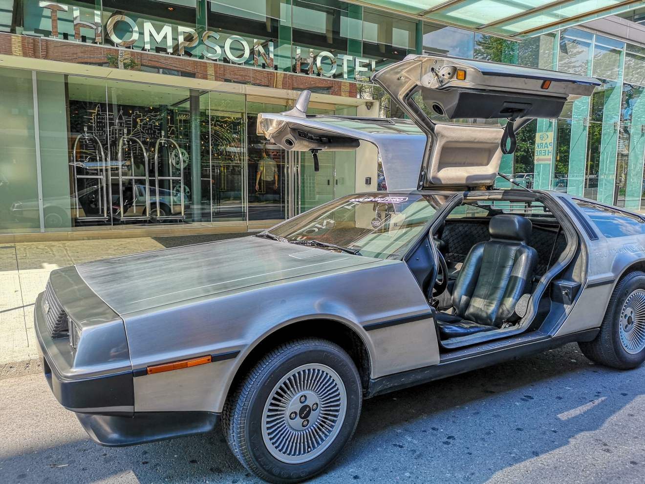 Turo's DeLorean at Bask-It-Style