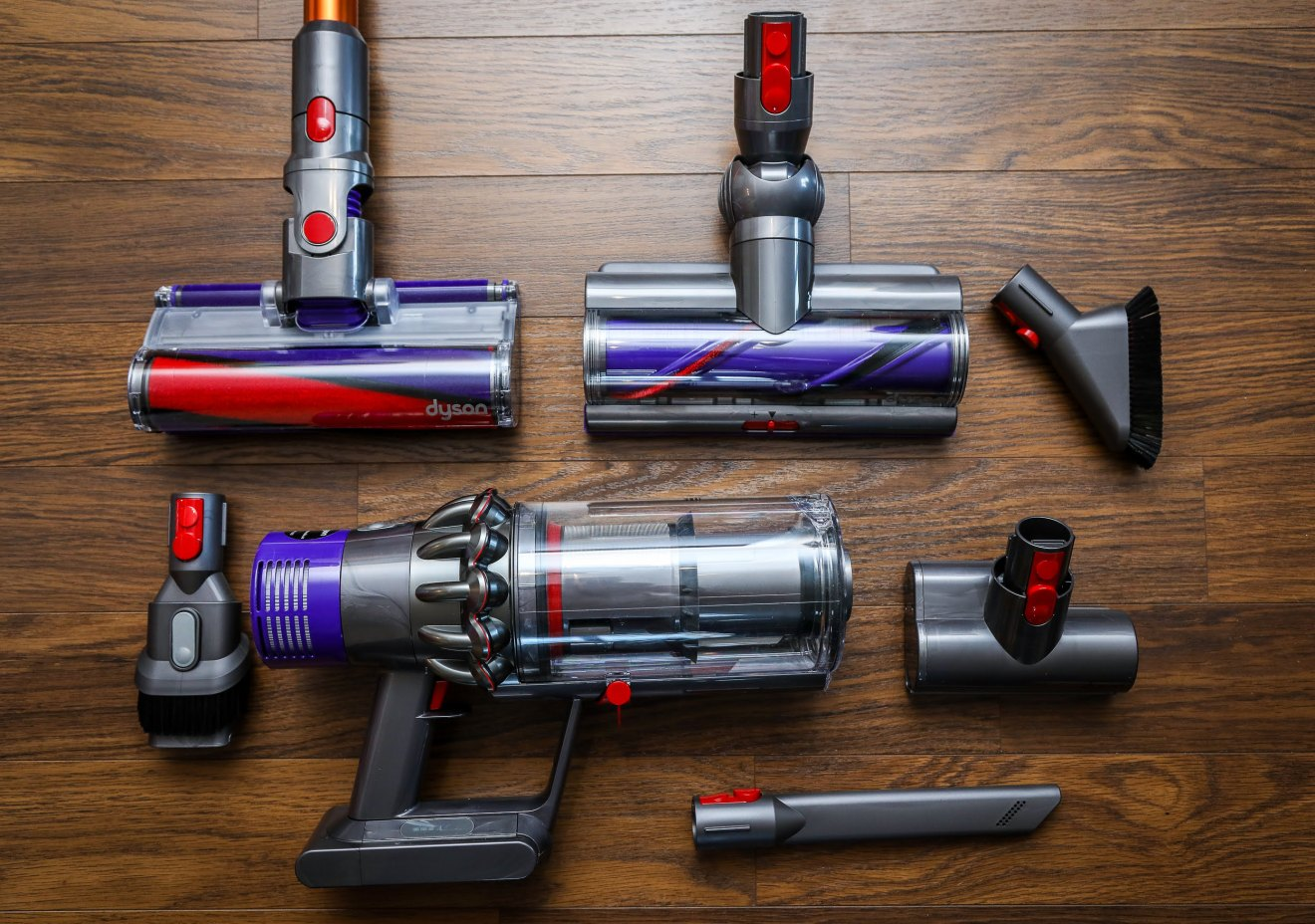 Dyson Cyclone V10 Absolute - Cleaning Tools