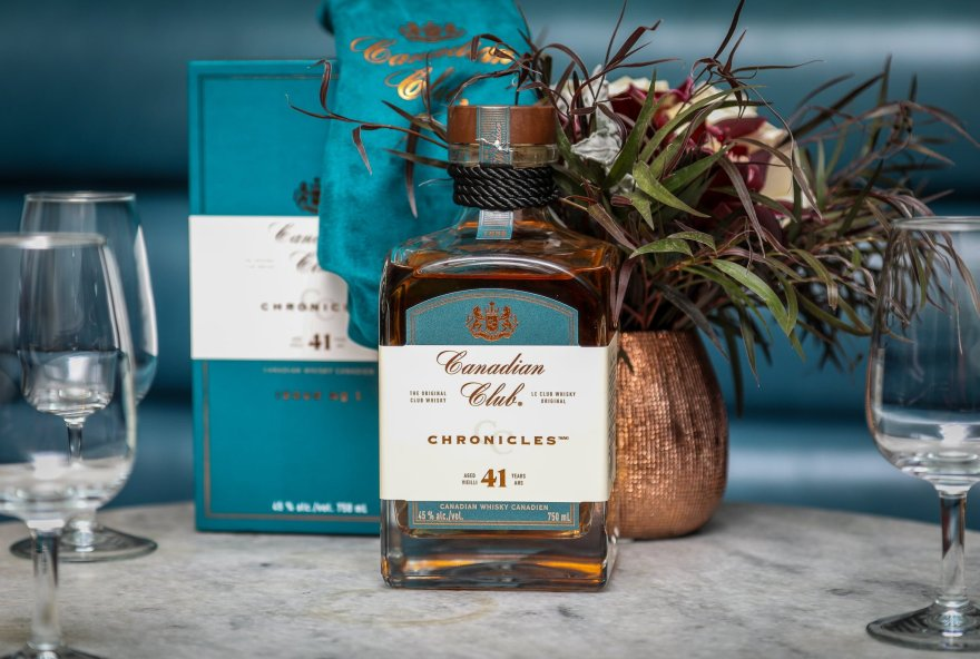 Canadian Club 41 Year Old Whisky