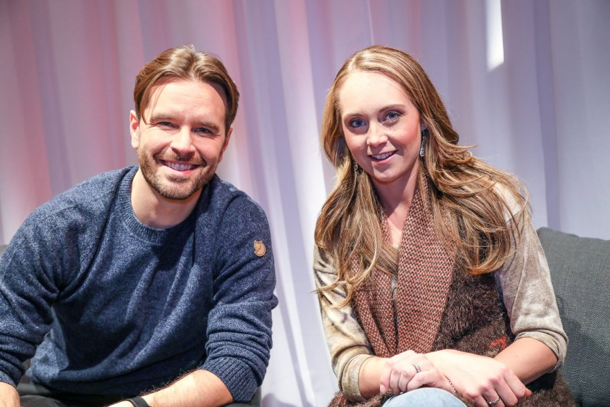 Graham Wardle & Amber Marshall