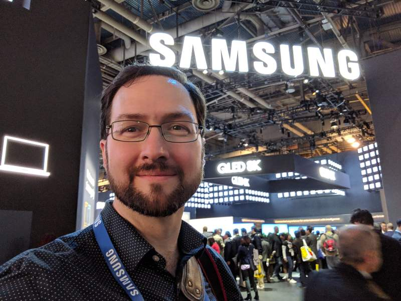 Andrew Powell at Samsung City