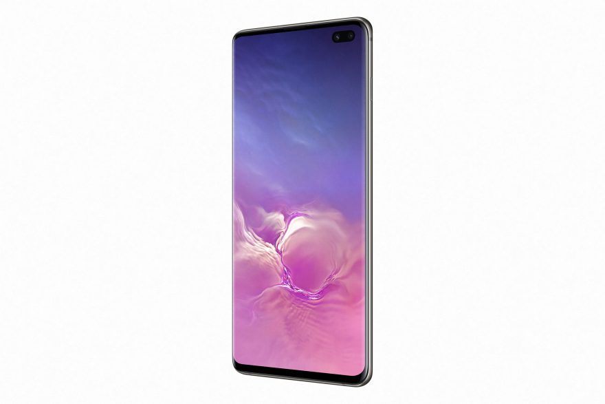 Samsung Galaxy S10+ in Ceramic Black