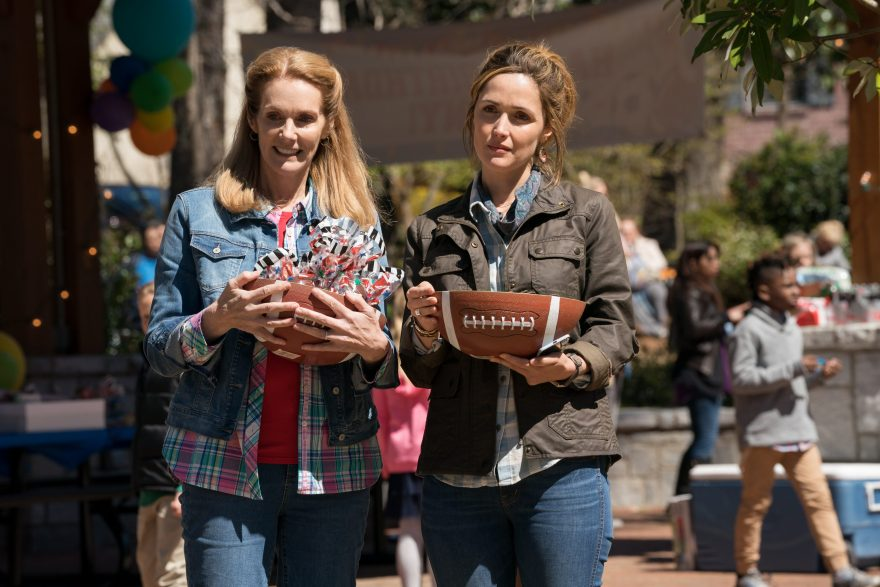Julie Hagerty and Rose Byrne in Instant Family