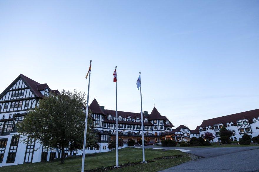 The Algonquin Resort at dusk