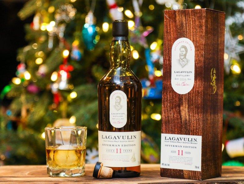 Lagavulin Offerman Edition 11 Year Old single malt Scotch whisky