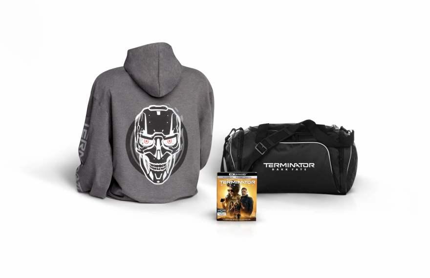 Terminator: Dark Fate prize pack