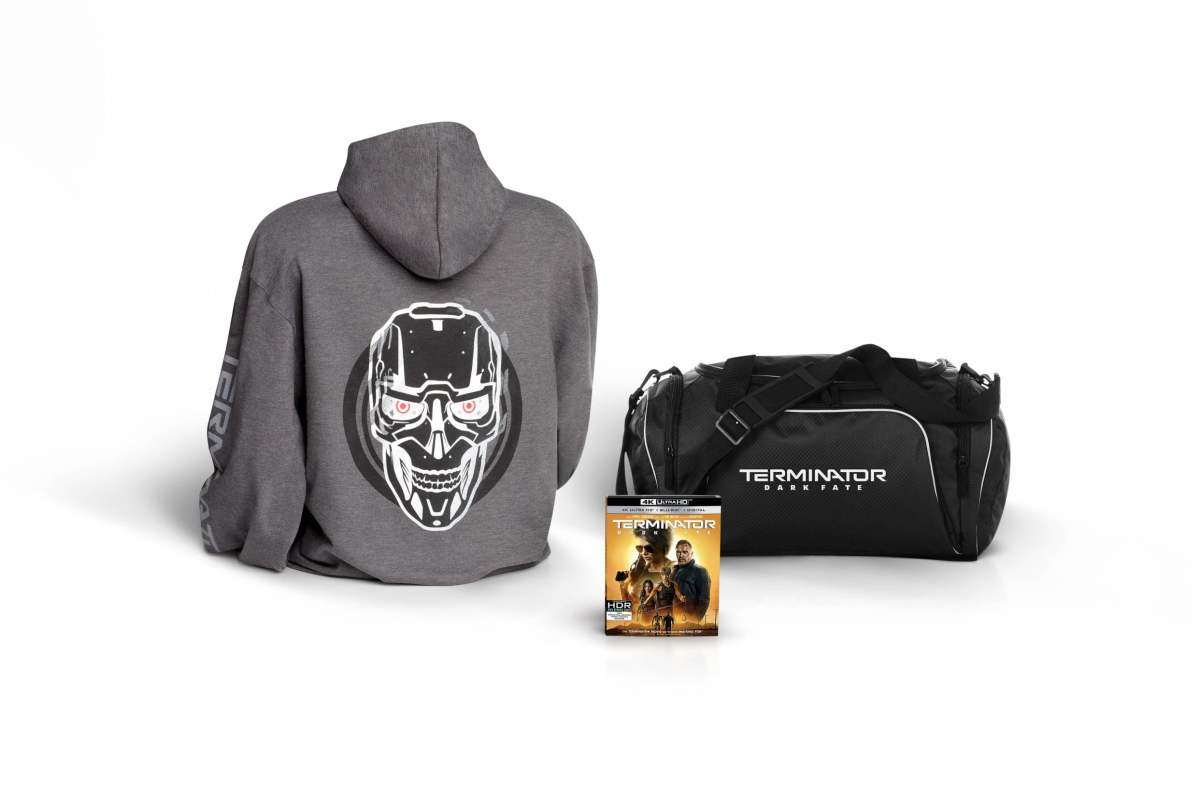 Terminator: Dark Fate prize pack