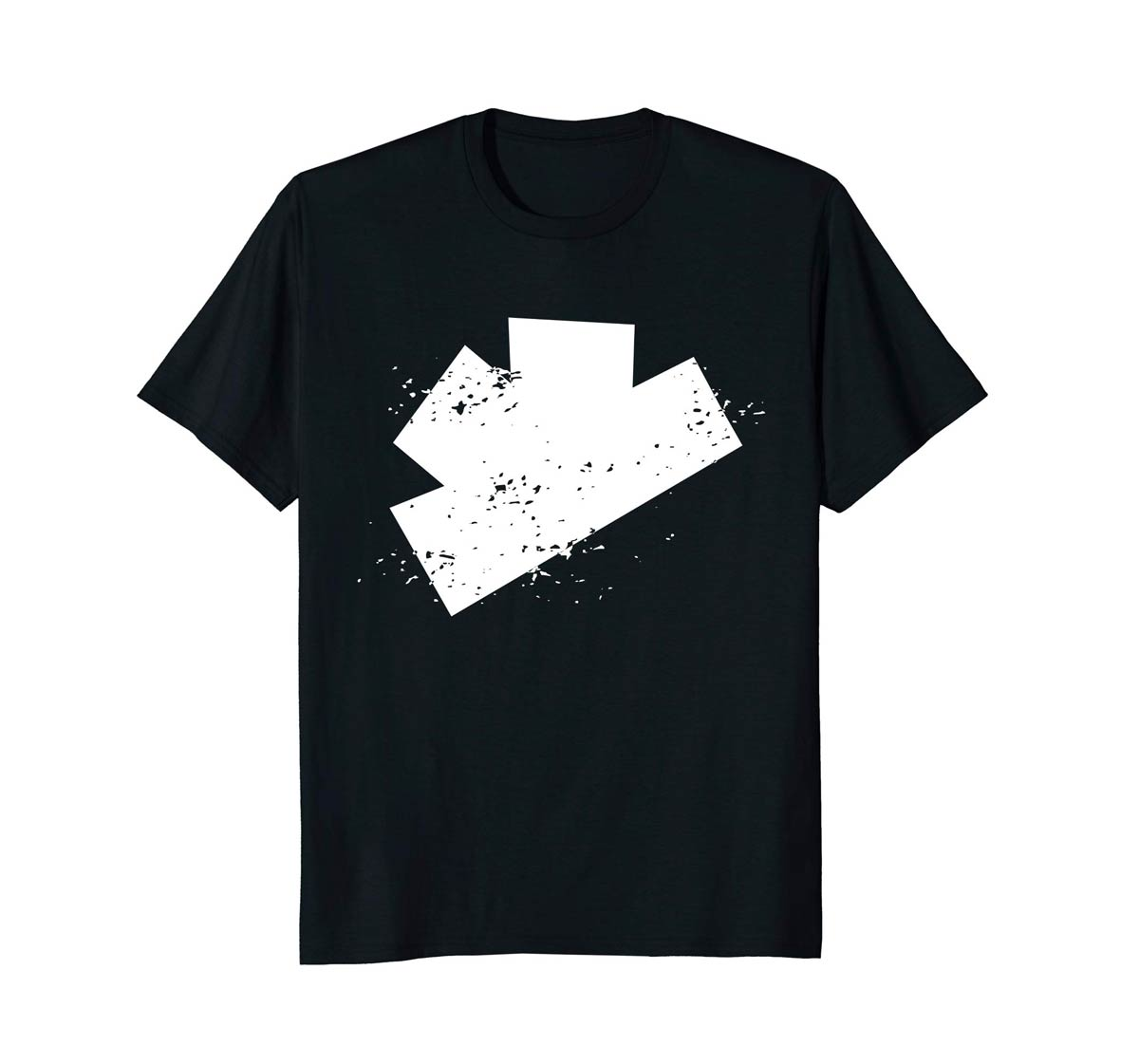 The Gatecrashers Big Logo Tee Black