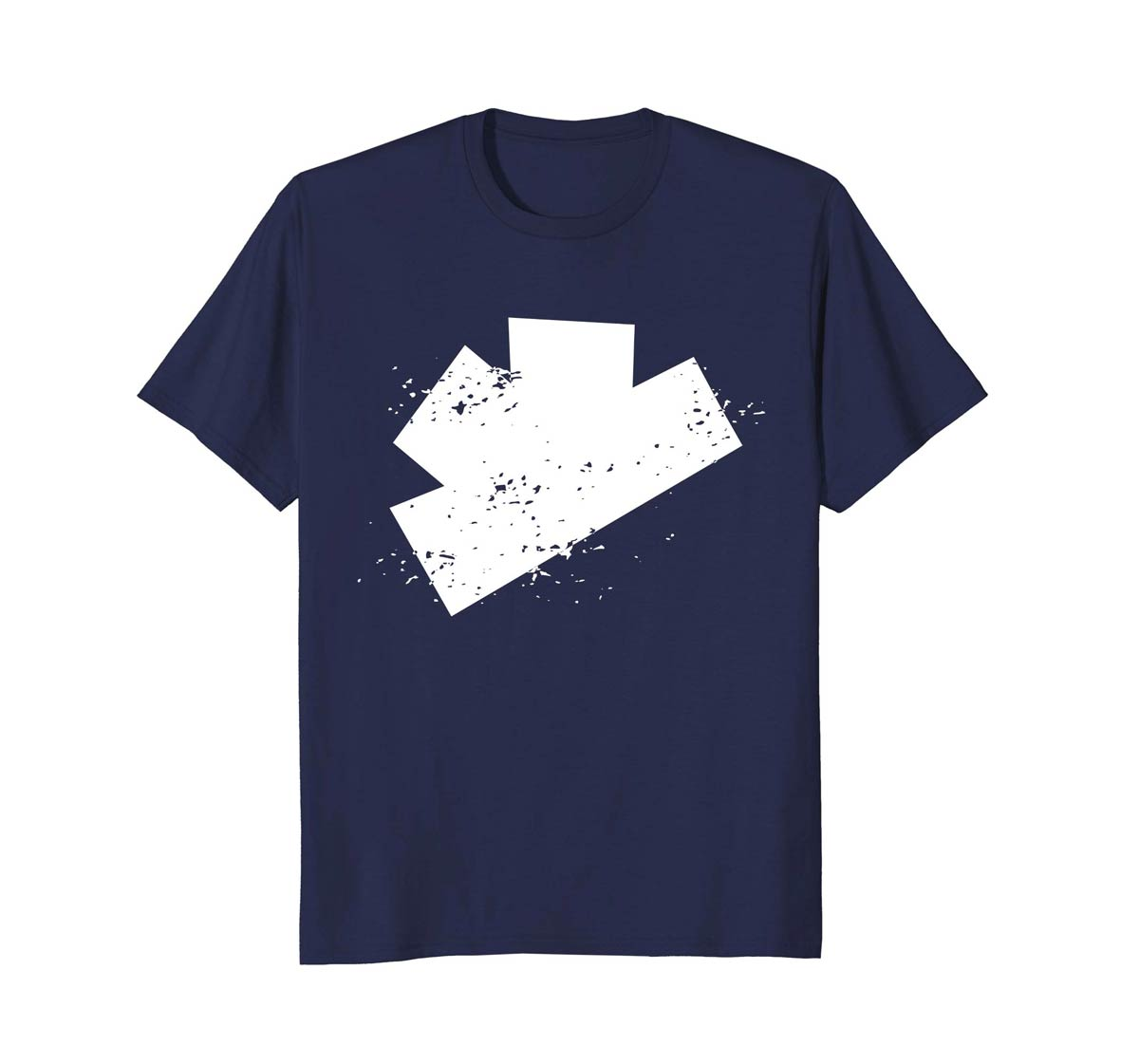 The Gatecrashers Big Logo Tee Navy