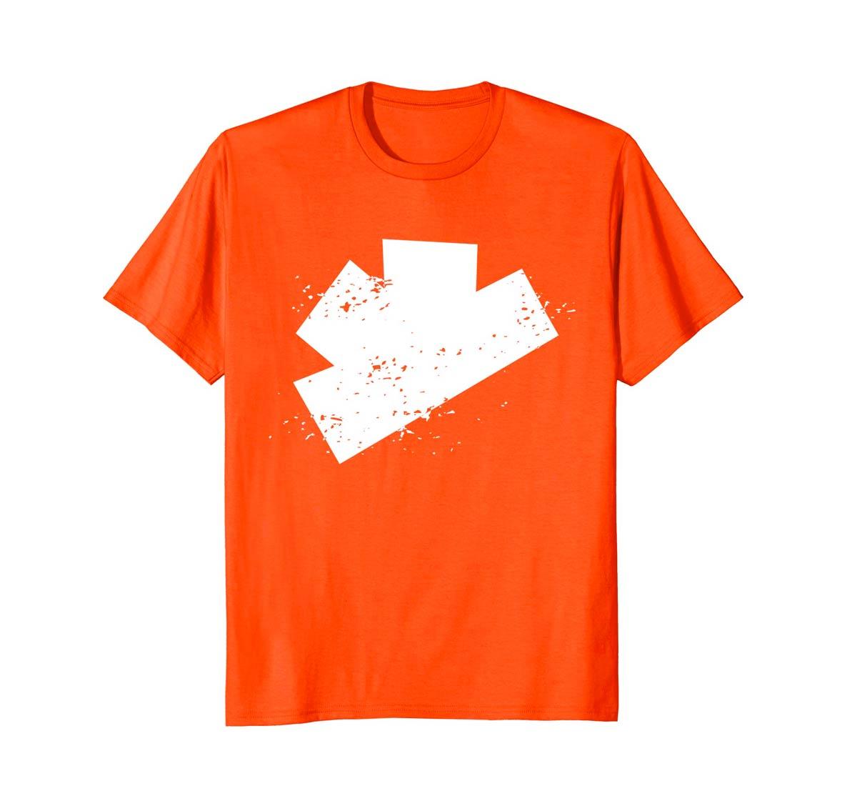 The Gatecrashers Big Logo Tee Orange