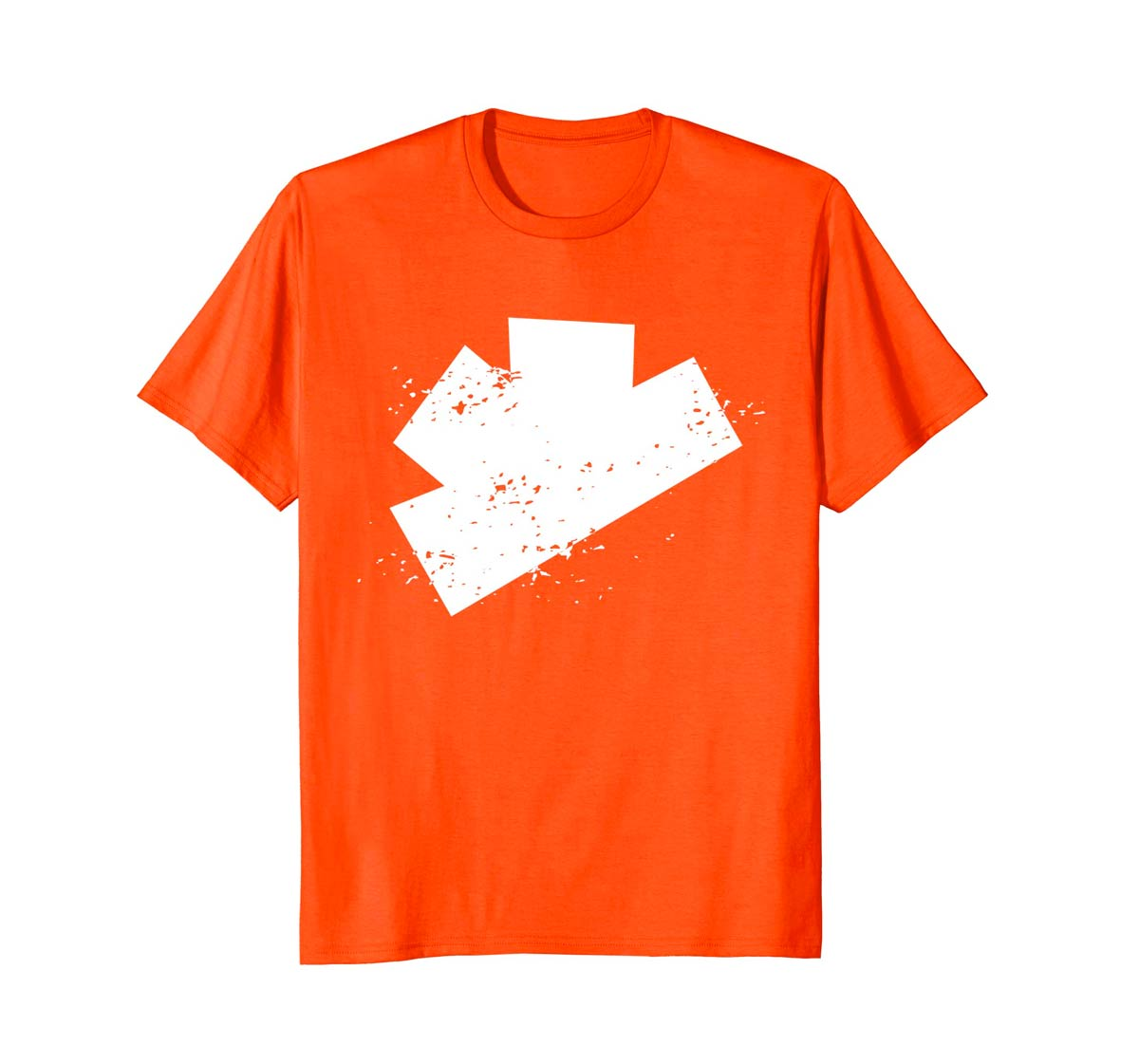 The Gatecrashers Big Logo Tee Orange