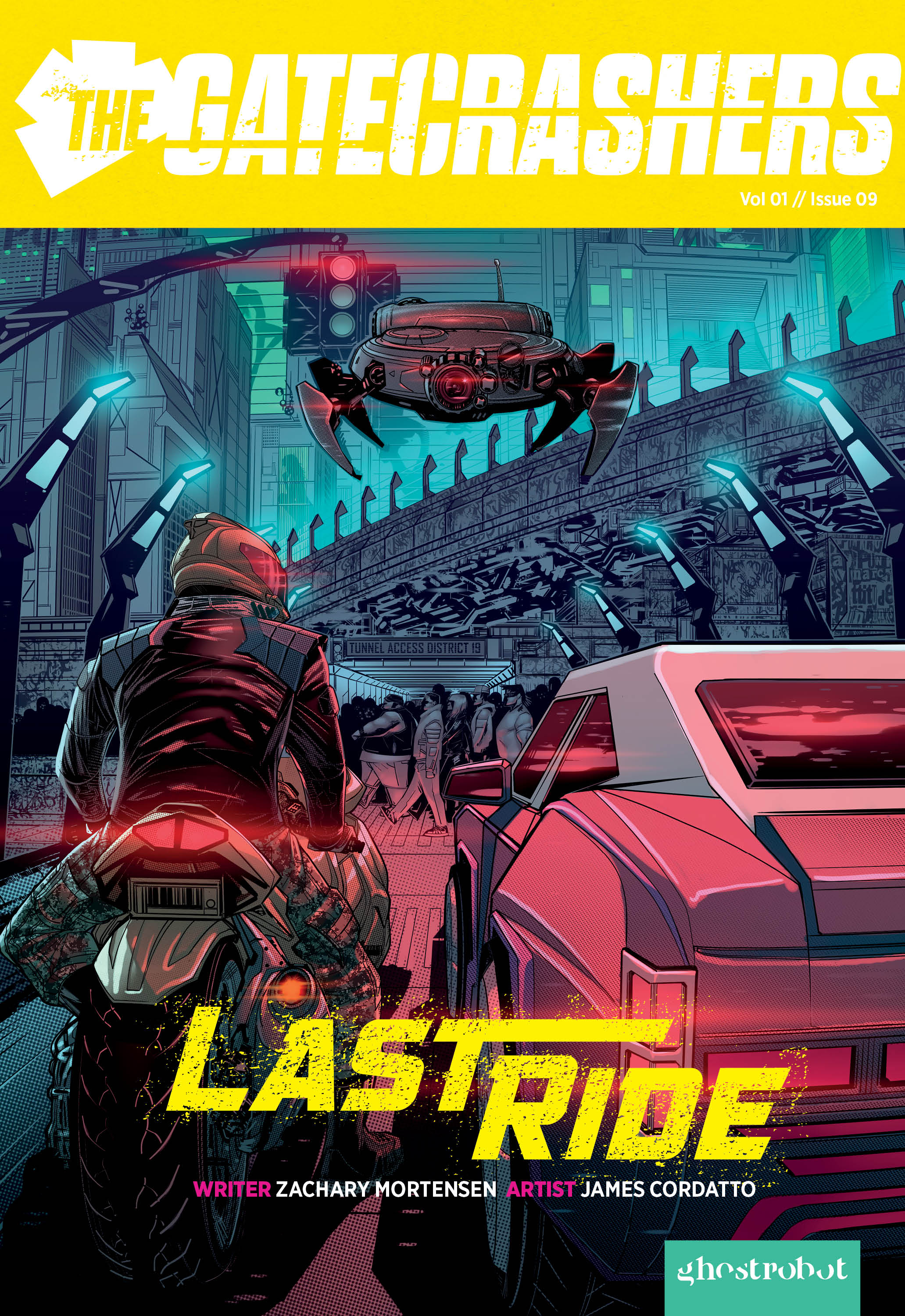 The Gatecrashers Issue 09 Last Ride Cover