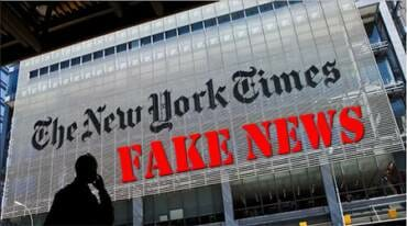 WOW!  Fake news Giant NY Times added 800,000 to total number of children hospitalized with coronavirus