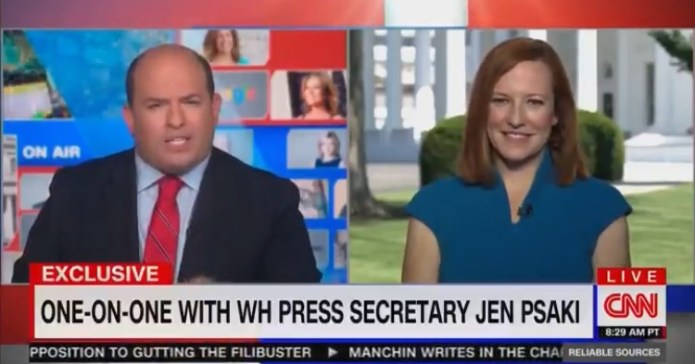 This Exchange Between Brian Stelter and Jen Psaki is Why CNN is Hemorrhaging Viewers (VIDEO)