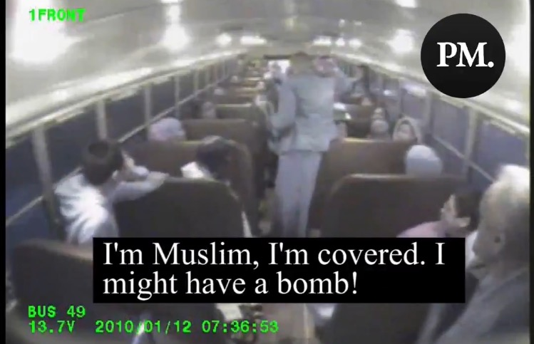 SHOCK VIDEO: Seattle-Area Muslim Activist Running For King County Council Once Boarded a Bus Full of Children and Threatened to Blow It Up (VIDEO)