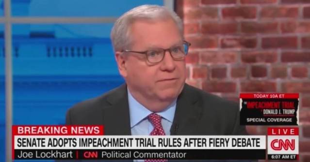 """CNN Hack Tweets Out """"Overheard Convo"""" Between GOP Senators Panicking About Impeachment – Later Admits He Made it All Up"""