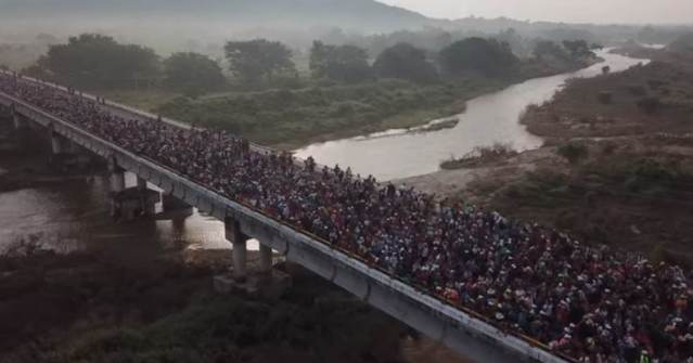"""UN Human Rights Ruling Says """"Climate Refugees"""" Cannot be Returned back to Their Home Country — US Must Open Its Borders to All Central Americans"""
