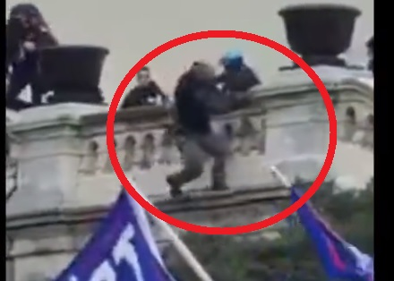 StopHate Releases RIVETING 37 Minute Video Documentary on Jan. 6 Protests — What Really Happened? Why Did Police Start Shooting? with EXCLUSIVE FOOTAGE of Police Pushing Protester Off of 2-Story Ledge