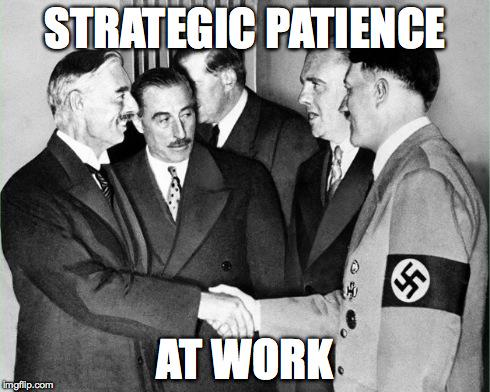 strategic patience
