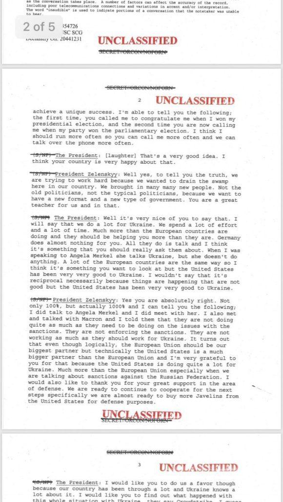 Impeach Ukraine Transcript page 2