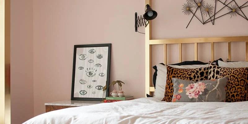 Blush Pink Master Bedroom Tour + Sources
