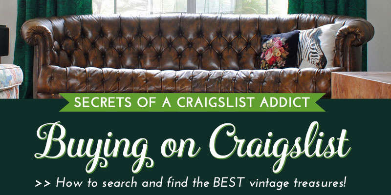 Secrets Of A Craigslist Addict: Buying On Craigslist