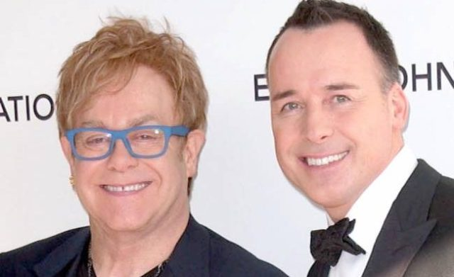 what's the age difference between Elton John and David Furnish